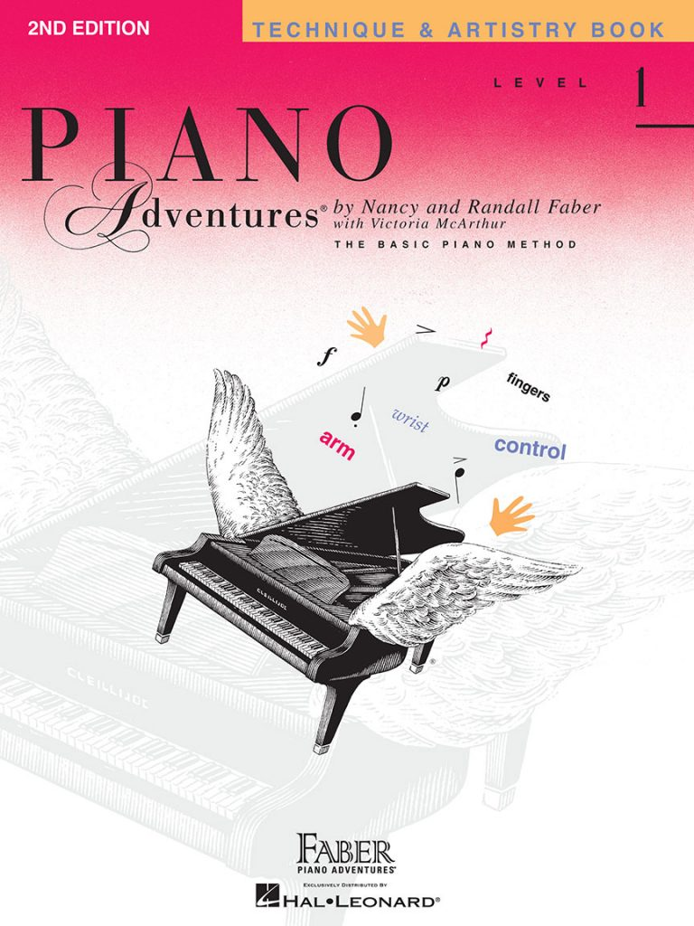 Piano Adventures® Level 1 Technique & Artistry Book 2nd Edition