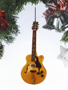 Hollow Body Guitar Ornament