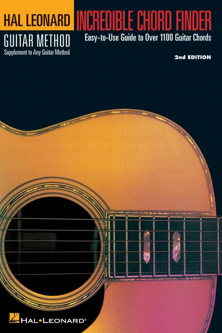INCREDIBLE CHORD FINDER – 9″ X 12″ EDITION Hal Leonard Guitar Method Supplement