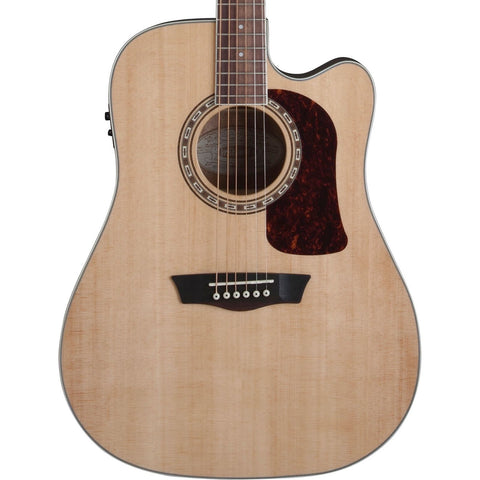 Washburn HD10SCE Heritage Series Dreadnaught Acoustic Electric Guitar