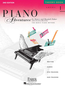 Piano Adventures® Level 1 Theory Book 2nd Edition