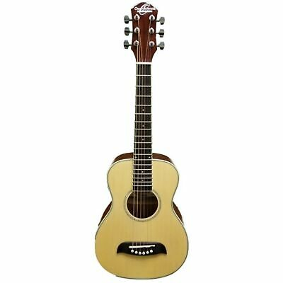 Oscar Schmidt 6 String OGQS 1/4 Size Dreadnought Acoustic Guitar Natural, Right Handed