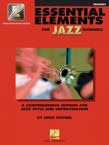 Essential Elements For Jazz Trumpet Bk/Online media