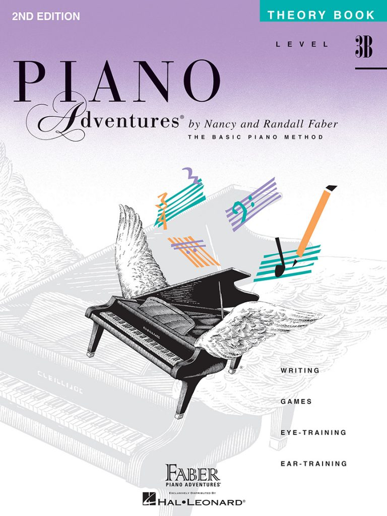 Piano Adventures® Level 3B Theory Book