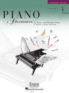 Piano Adventures® Level 5 Lesson Book