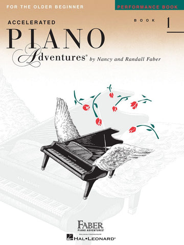 Accelerated Piano Adventures® Performance Book 1 For the Older Beginner