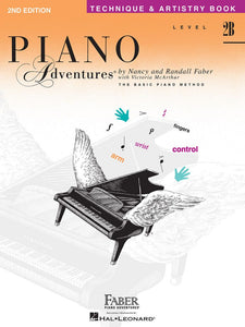 Piano Adventures® Level 2B Technique & Artistry Book 2nd Edition