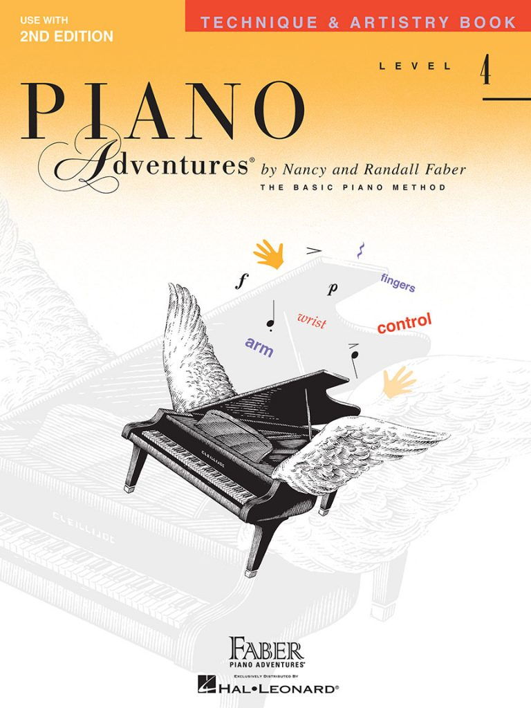 Piano Adventures® Level 4 Technique & Artistry Book Use with 2nd Edition