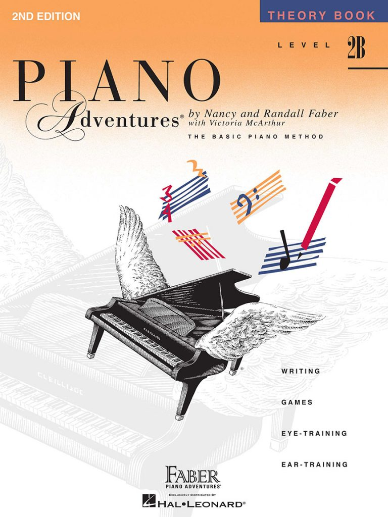 Piano Adventures® Level 2B Theory Book 2nd Edition
