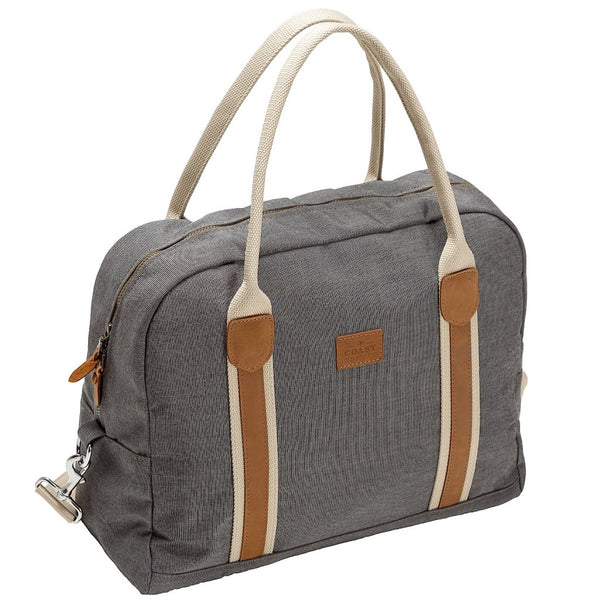 Coast Cabin Bag - Charcoal Tweed