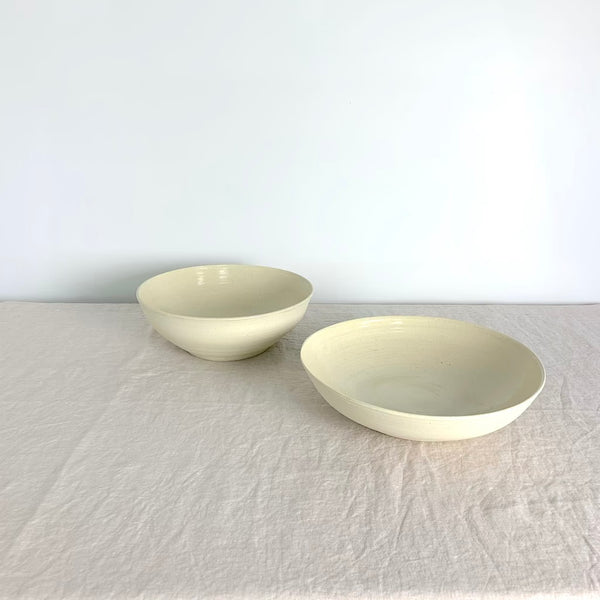 Galit Maxwell Zen Salad Bowl. Handmade and hand thrown by Galit in her Wellington studio