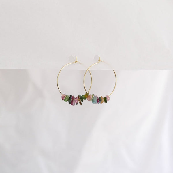 Good Heart Hoops - Tourmaline