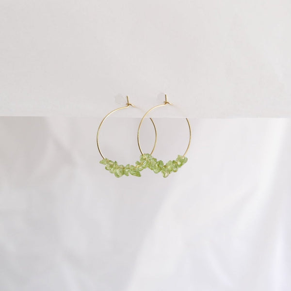 Good Heart Hoops - Peridot