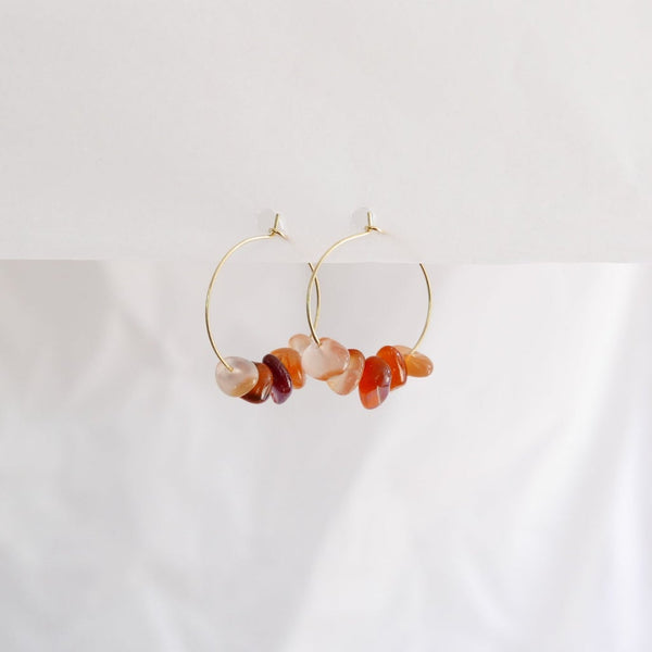 Good Heart Hoops - Carnelian