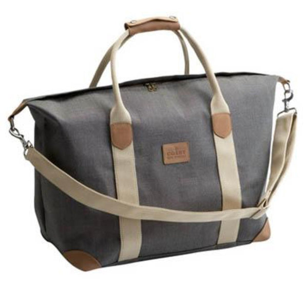 Coast Weekender Bag - Charcoal Tweed