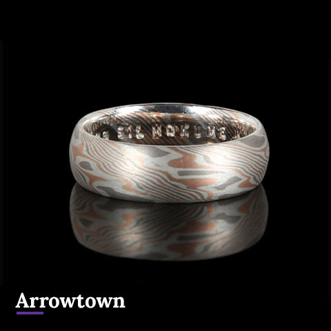 Arrowtown Mokume Gane