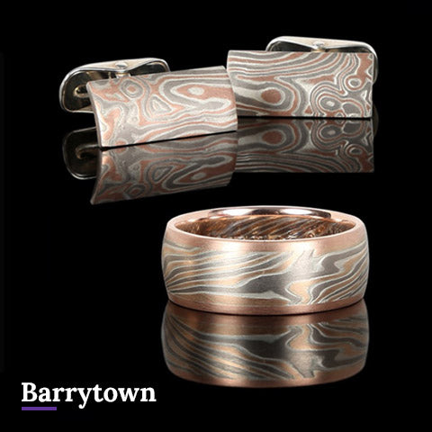 Barrytown Mokume Gane