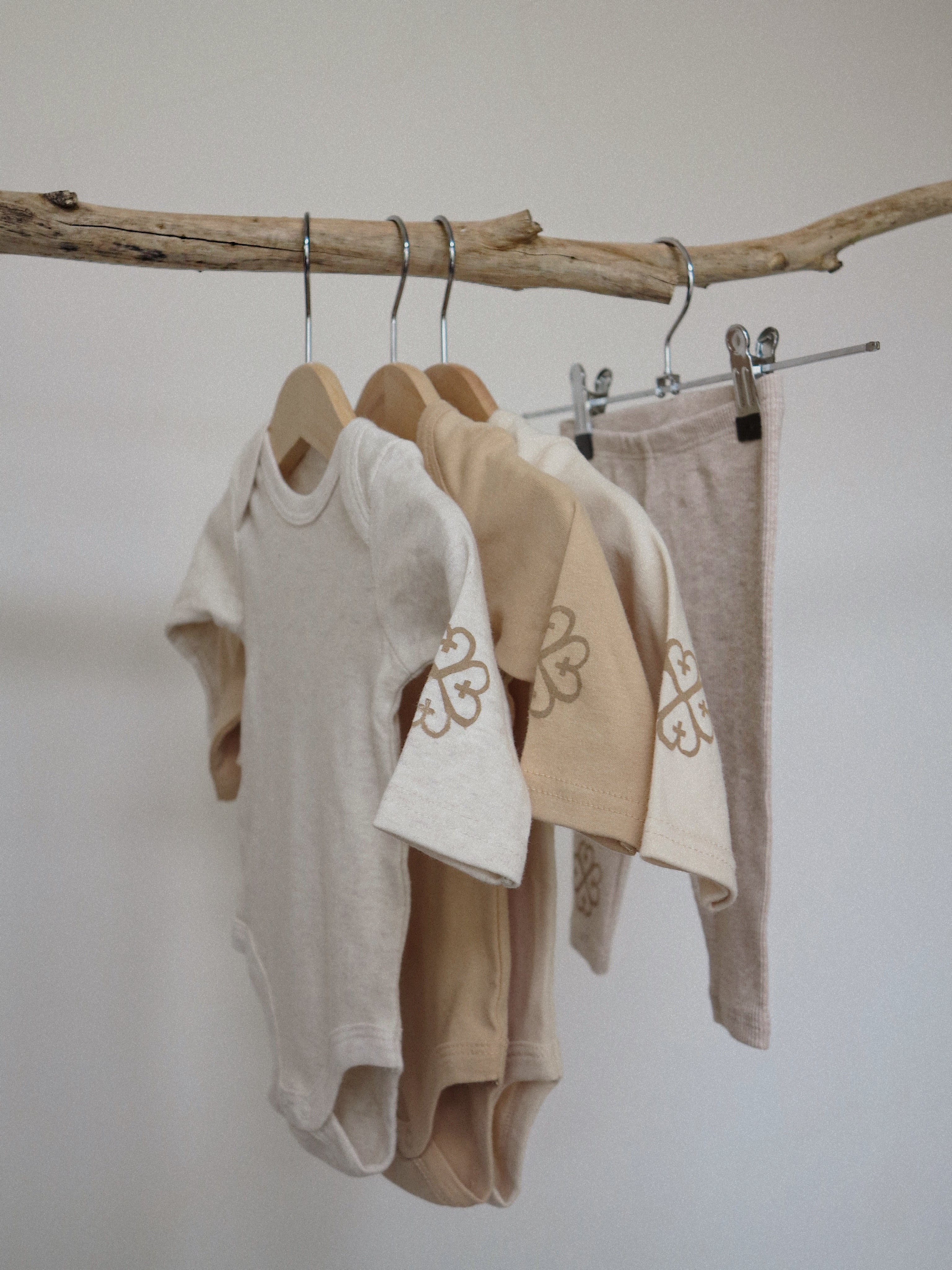 Long Sleeve Bodysuit<br> Caramel