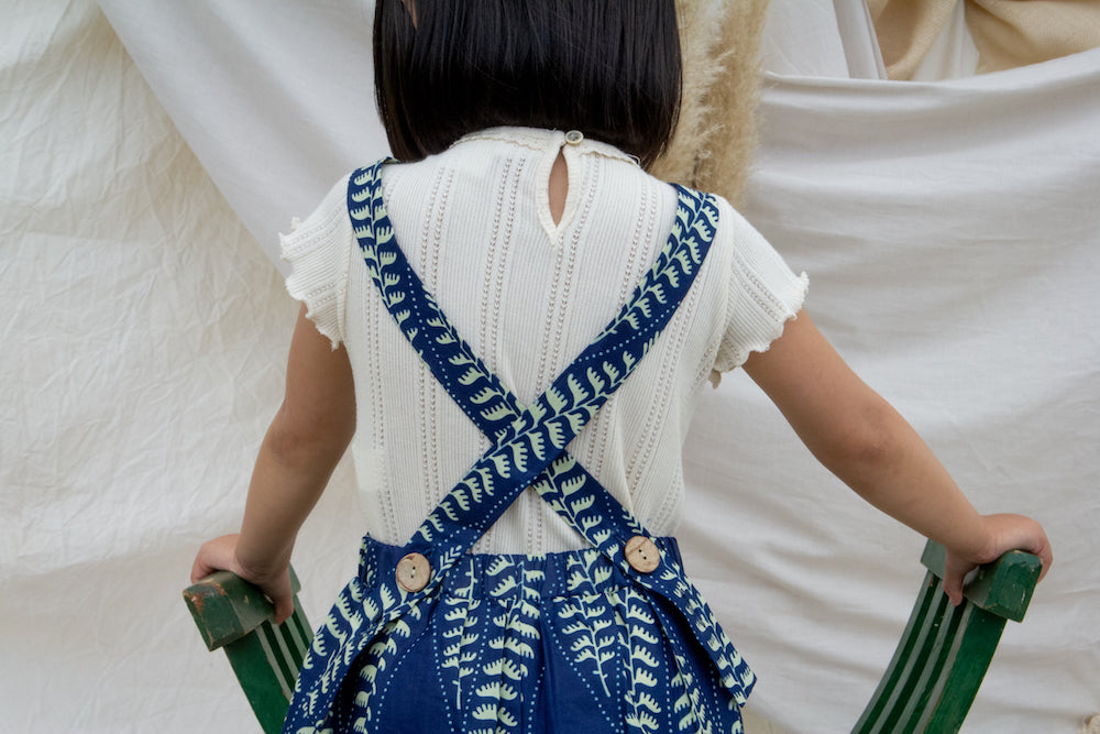 Ndidi Apron Dress