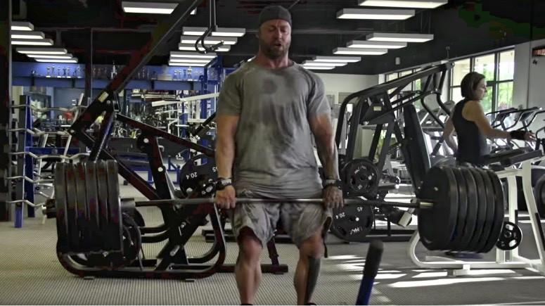KRIS GETHIN BACK WORKOUT WITH IMOGEN