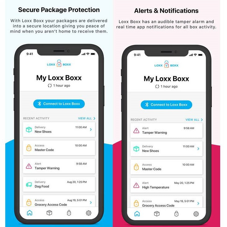 Loxx Boxx App for Rental Tenants