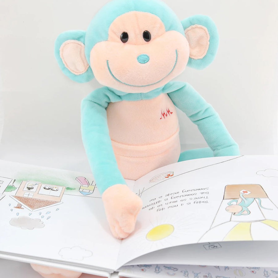 children book that helps sick kids by Medicine Monkey