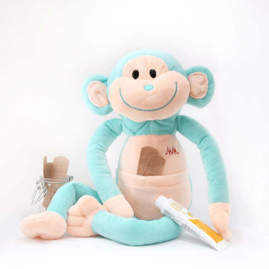 get well hospital gift for sick children by Medicine Monkey