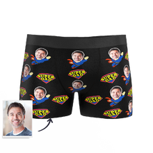 Custom Super Dad Boxer Shorts