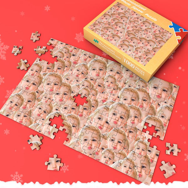 Custom Face Mash Jigsaw Puzzle 35-1000 pieces