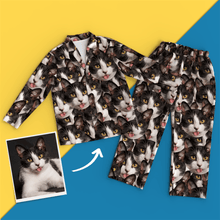 Custom Face Pajamas - Face Mash Dog Pyjamas
