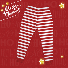 Custom Merry Christmas Pajamas Classic Red And Green Set-Pajama Bottoms
