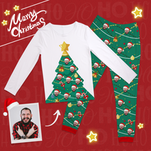Custom Christmas Tree Pajamas Suit