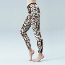 Custom Face Leopard Low Rise Leggings