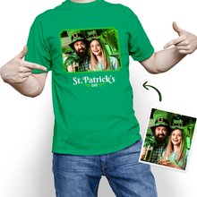 Custom Face St. Patrick's Day With Your Photo T-shirt