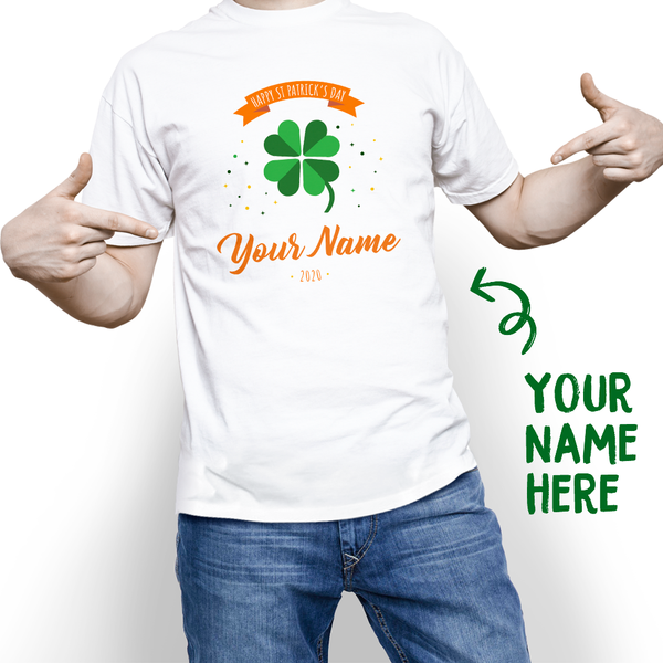 Custom Funny St. Patrick's Day With Your Name Tee