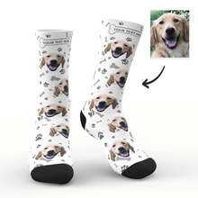 Custom Dog Happy Socks With Your Text