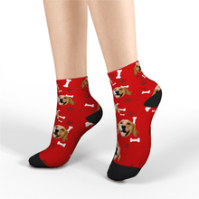 Custom Short Socks Dog - MyPhotoSocks