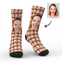 Custom Your Face Mash Socks With Your Name