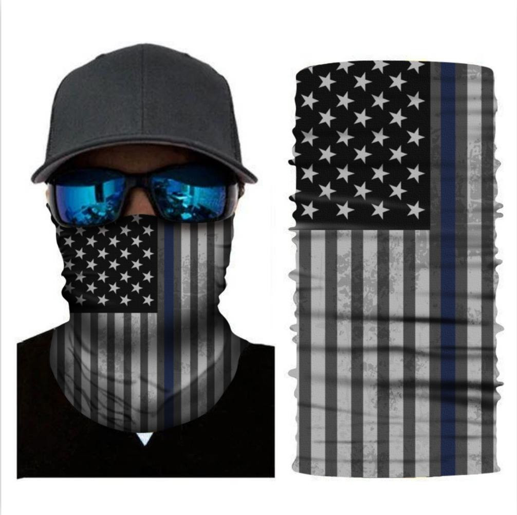 Flag Bandana Can Also Be Worn As Dust Cover Headband Or Neck Gaiter