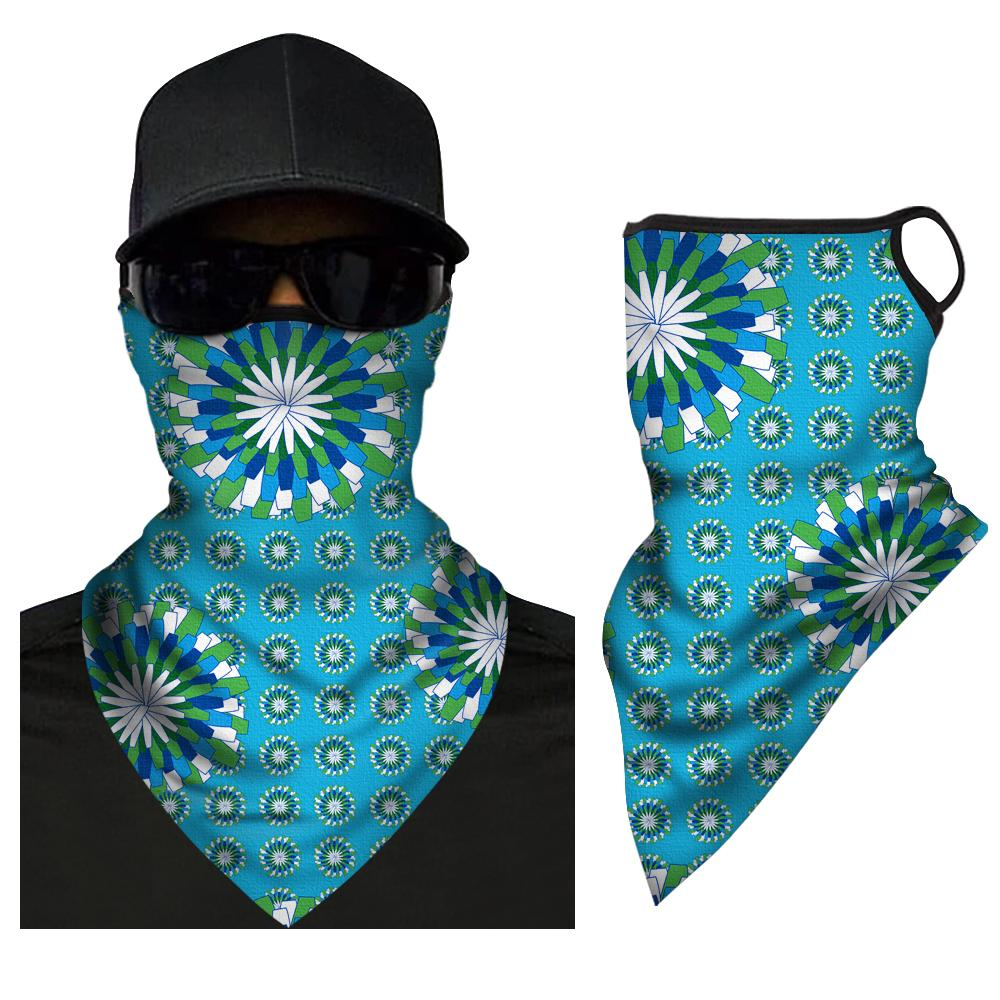 Face Cover Neck Protection Full Covering Triangle Bandana Breathable - MyFaceSocksUK