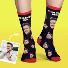 Custom Face Socks Colorful Candy Series