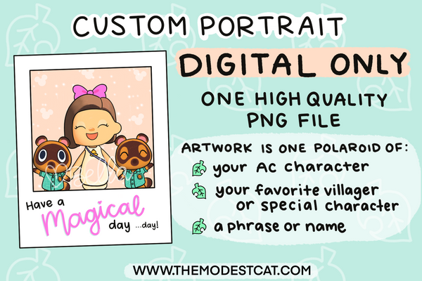 Custom AC Portrait - Read Description