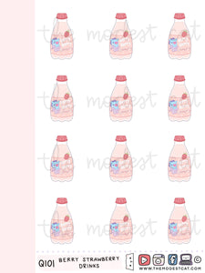 Micro Berry Strawberry Drinks (Q101)