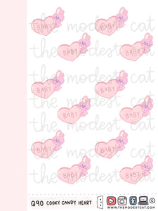 Micro Cooky Candy Heart (Q90)