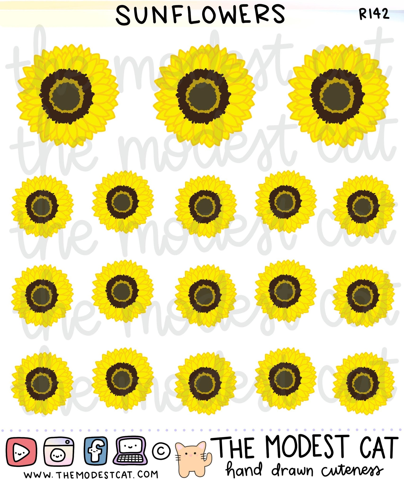 Sunflowers (R142)