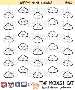 Happy Mini Clouds(R152)
