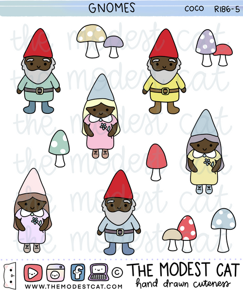 Gnomes (R186) - Choose skin tone