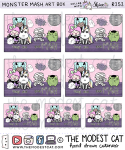 Monster Mash Art Box (R252)