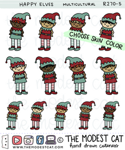Happy Elves (R270) - Choose skin tone