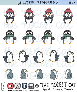 Winter Penguins (R78)